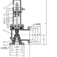 Схема предохранительного клапана